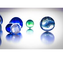 The World of Marbles Photographic Print