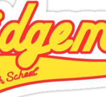Ridgemont High School Sticker