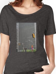 Linear  Women's Relaxed Fit T-Shirt