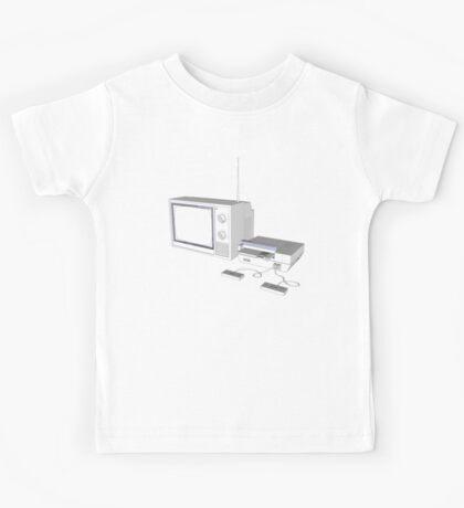 NES and TV Kids Tee
