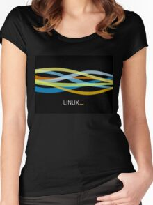 Linux Appreal  Women's Fitted Scoop T-Shirt