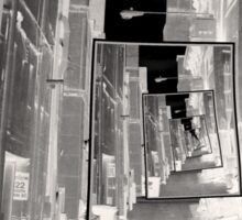 Reflections of An Infrared Alley Sticker