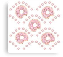Dreams Of Donuts Canvas Print