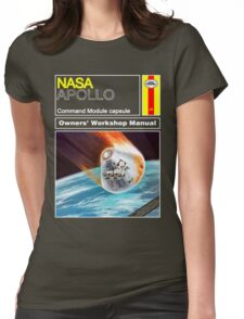 Owners Workshop Manual - NASA Apollo Womens Fitted T-Shirt