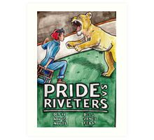 NWHL - Pride vs Riveters Art Print