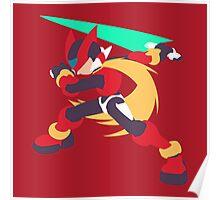 Mega Man Zero Poster