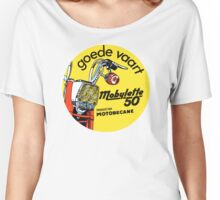 Vintage moped Mobylette 50 motobecane Women's Relaxed Fit T-Shirt