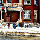 MONTREAL WINTER WALK AFTER THE SNOWSTORM by Carole  Spandau