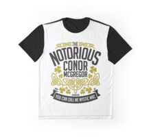 Conor McGregor Crest [B_G] Graphic T-Shirt