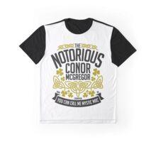 Conor McGregor Crest [B_G] Graphic T-Shirt