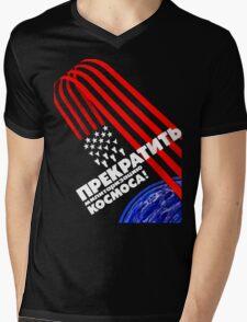 Cold War Poster Mens V-Neck T-Shirt