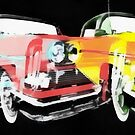 Edsel Triple Threat Pop Art by Edward Fielding