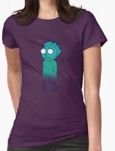 Phantom Morty (Pocket Mortys) Womens Fitted T-Shirt
