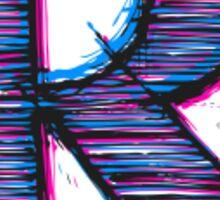 """TheRandomChannel - """"R"""" Logo Design Sticker"""