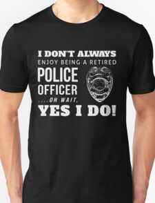 Protect & Serve! (WhiteText) T-Shirt