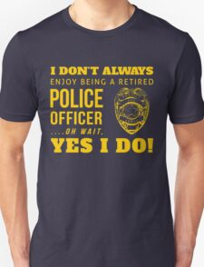 Protect & Serve! (GOLD EDITION!) T-Shirt