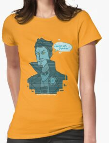 Cupcake- Handsome Jack Womens Fitted T-Shirt