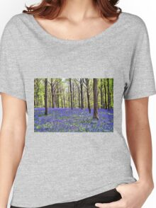 Knee Deep In Bluebells! Women's Relaxed Fit T-Shirt