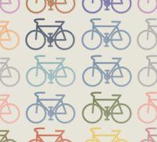 bike pattern Sticker