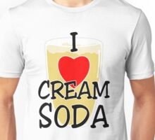 I Heart Cream Soda Unisex T-Shirt