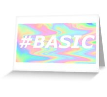 #BASIC Greeting Card