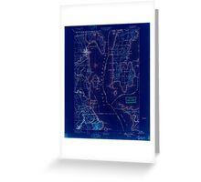 New York NY Plattsburg 148140 1894 62500 Inverted Greeting Card