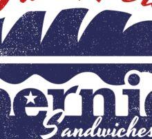 Bernie Sandwiches in USA Sticker