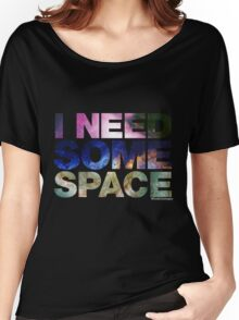 I Need Some Space - black Women's Relaxed Fit T-Shirt