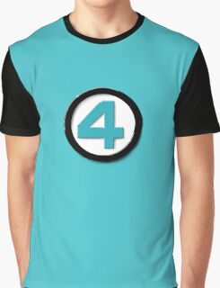 LAZY COSPLAY: Fantastic Four Graphic T-Shirt
