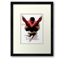 The Street Fighter Framed Print