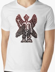 Pazuzu Mens V-Neck T-Shirt