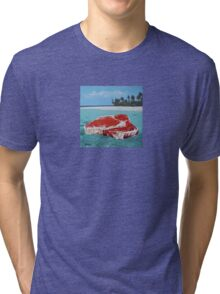 The Great Barrier Beef Tri-blend T-Shirt