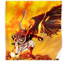 Natsu - Dragon Mode Poster