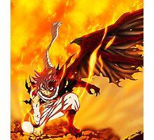 Natsu - Dragon Mode Photographic Print