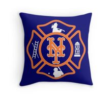 FDNY - Mets style Throw Pillow