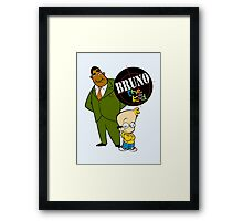 Bruno the Kid  Framed Print