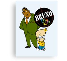 Bruno the Kid  Canvas Print