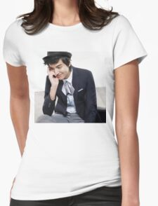Lee Min Ho 2 Womens Fitted T-Shirt
