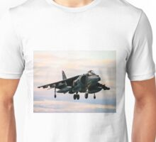 RAF Harrier landing Unisex T-Shirt