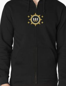 The Queen's Wrath Emblem Zipped Hoodie