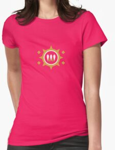 The Queen's Wrath Emblem Womens Fitted T-Shirt