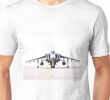 RAF Harrier head-on Unisex T-Shirt