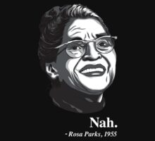 Rosa Parks Quote by fashionstitch