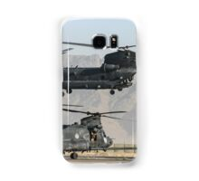 US Army Chinook MH-47D pair Samsung Galaxy Case/Skin