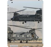 US Army Chinook MH-47D pair iPad Case/Skin
