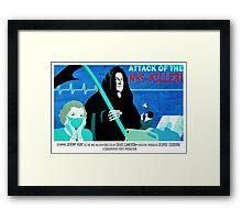 Jeremy Hunt  B-Movie Monster Framed Print