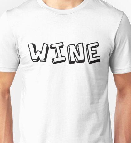 Wine Unisex T-Shirt