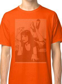 Pulp Fiction Mia Script Classic T-Shirt