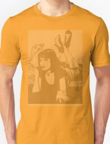 Pulp Fiction Mia Script Unisex T-Shirt