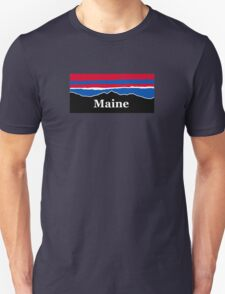 Maine Red White and Blue Unisex T-Shirt